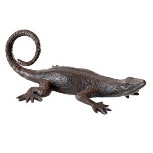 Bronze Lizard Small 16cm