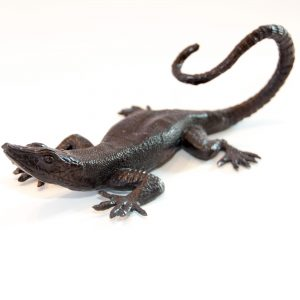 Bronze Lizard Large 24cm