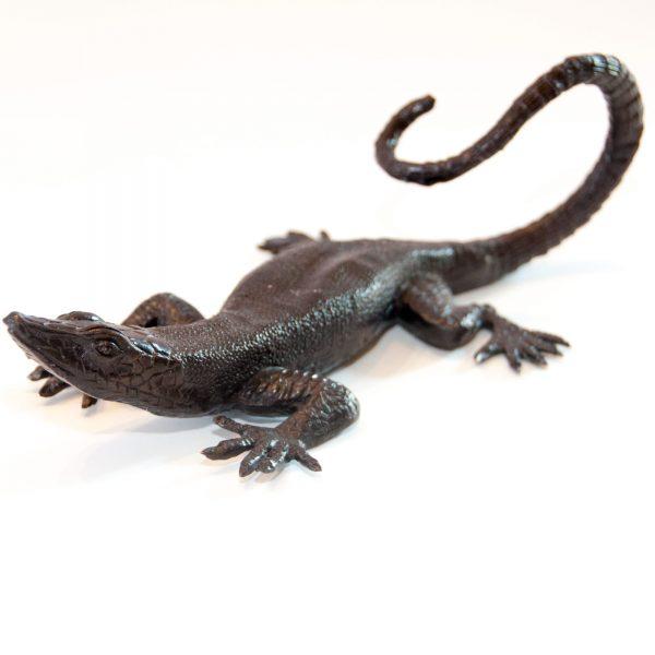 Bronze Lizard Large 24cm