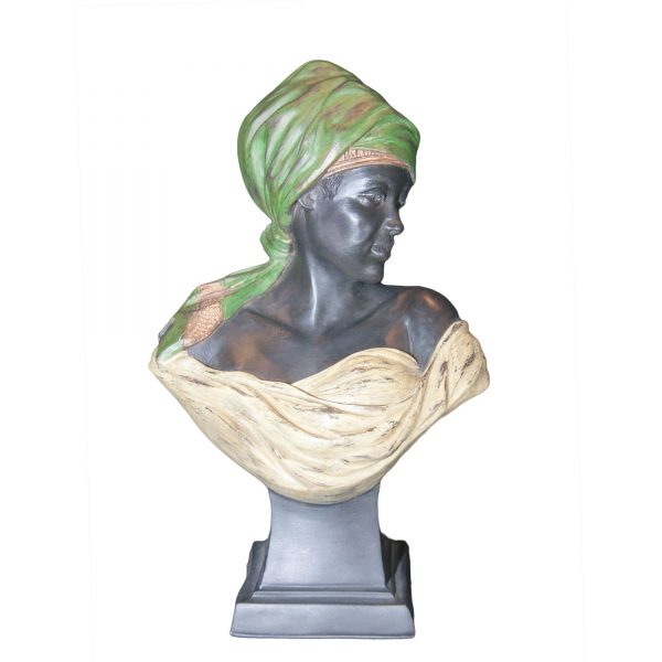 Bronze Female Bust