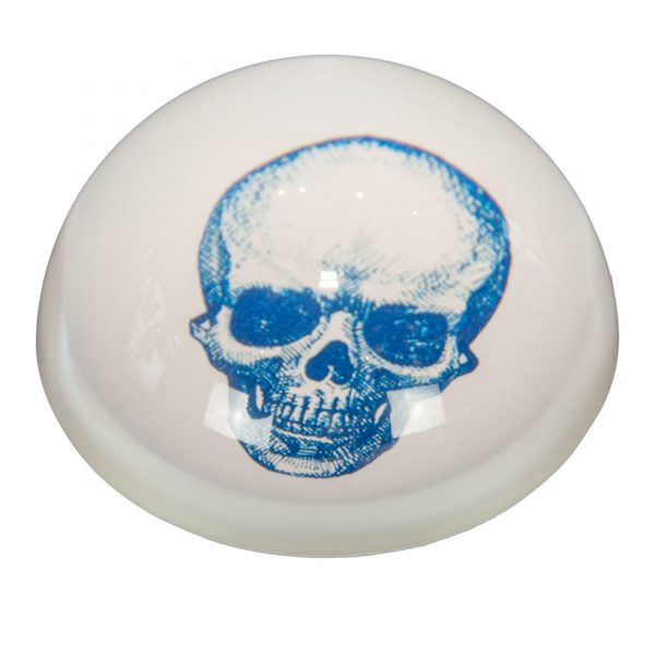 Glass Skull Paperweight