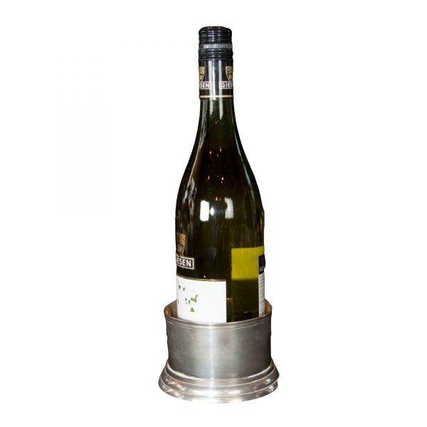 Plain Silver Plated Wine Bottle Coaster