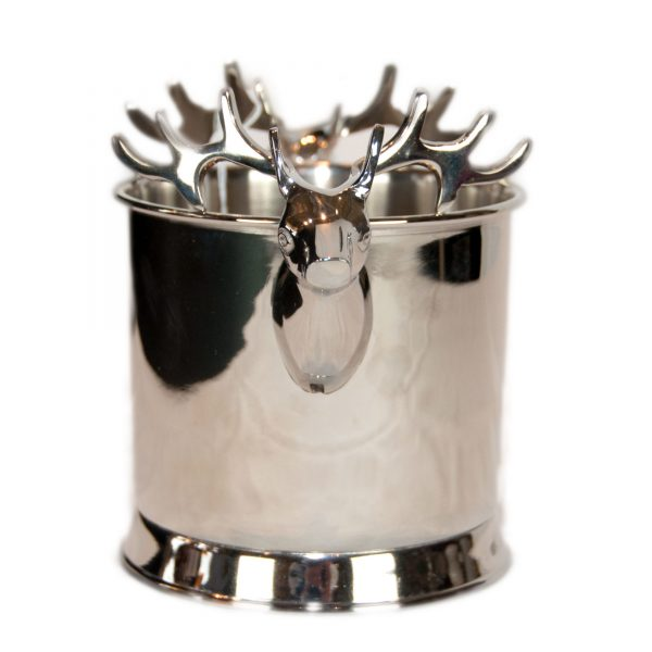 Stag Nickel Wine Bottle Cooler