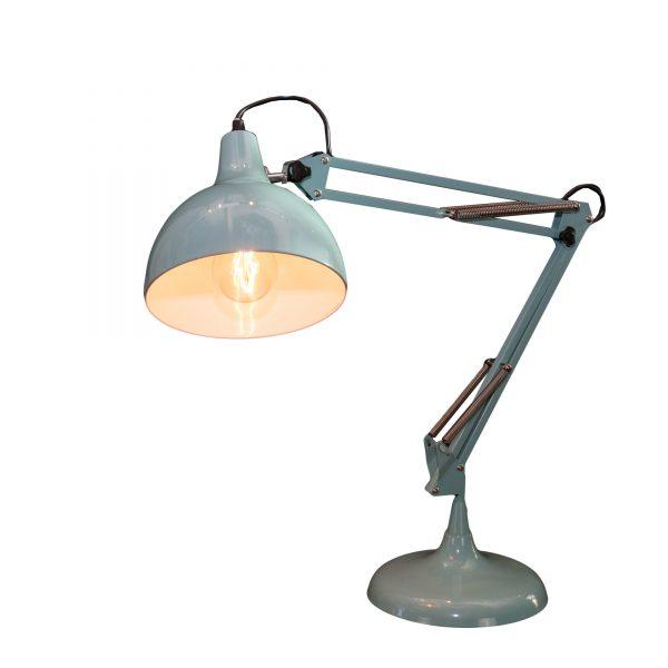 Light Blue Adjustable Desk Lamp
