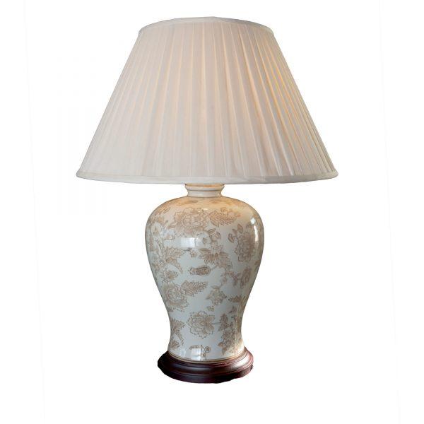 Decorated Ceramic Lamp Base