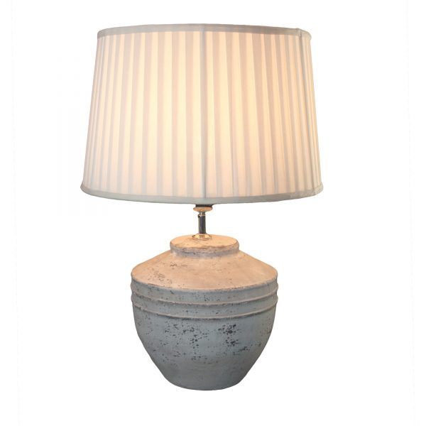 Stone Effect Toba Lamp Base