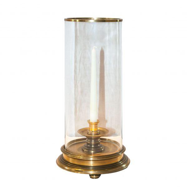 Erdigg Brass Cylinder Hurricane Lamp