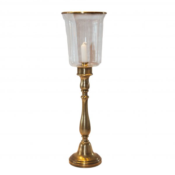 Groombridge Brass Hurricane Lamp