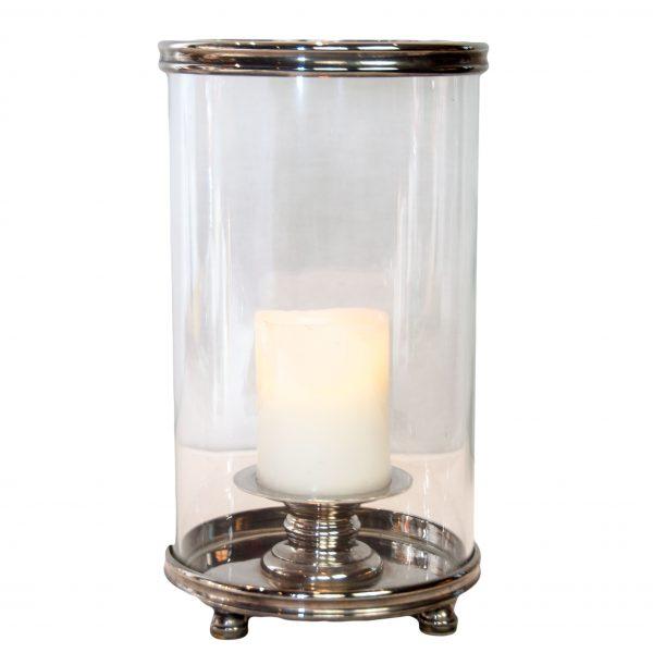 Gosford Silver Hurricane Lamp