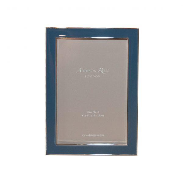 Enamel Picture Frame 8x10 Denim Blue