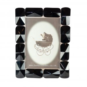 Black Glass Picture Frame 6x4