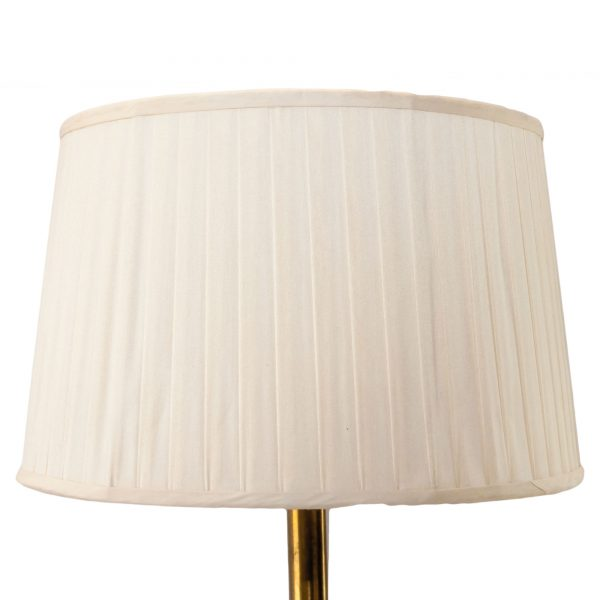 Holkham Knife Pleated Drum Lampshade