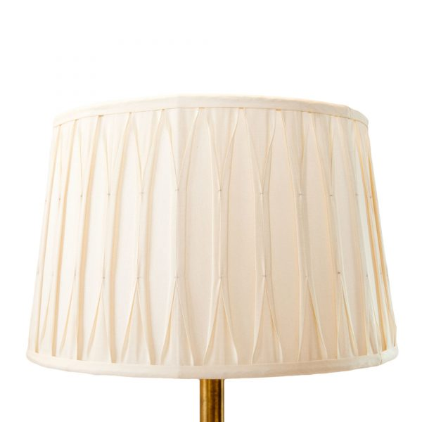 Holkham Pinch Pleated Drum Cream Lampshade