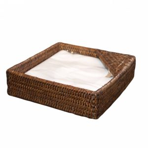 Natural Handwoven Rattan Napkin Holder
