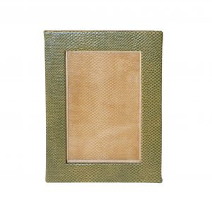 Faux Snakeskin Picture Frame 4x6 (various colours)