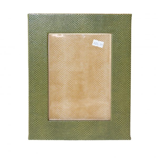 Faux Snakeskin Picture Frame 5x7 (various colours)